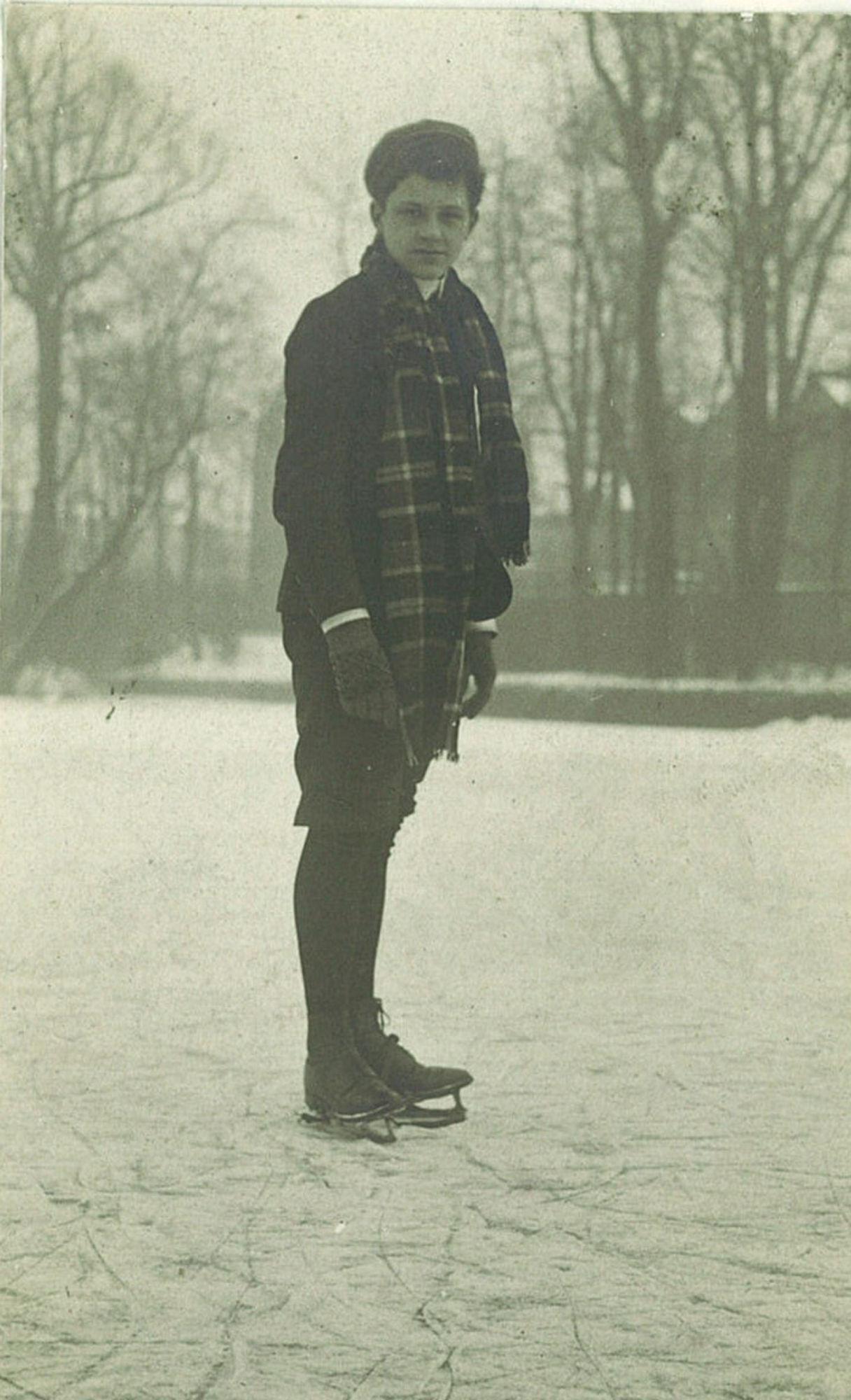 André Devaere in het Sint-Jorispark