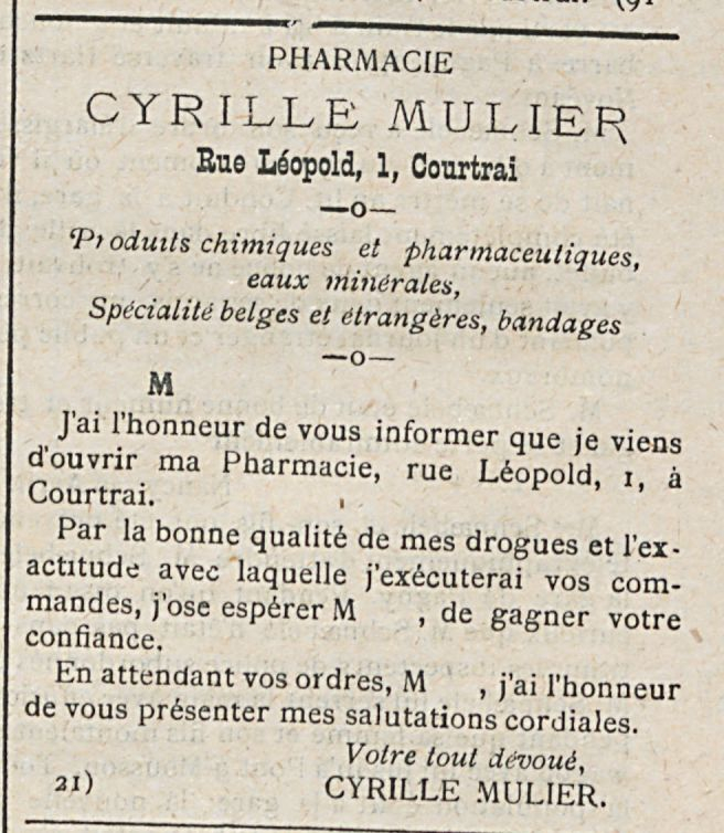 CYRILLE MULIER