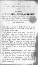 Debackere Gabriel