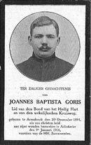 Joannes-Baptista Goris