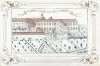Westflandrica - Firmakaart van het St.-Julien hospitaal in Brugge