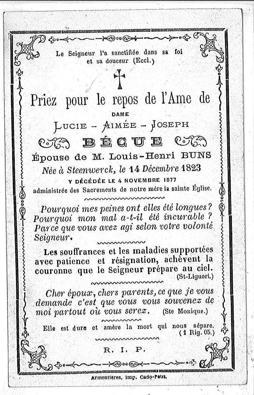 Lucie-Aimée-Joseph Becue