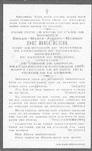 Edgar-Marie-Joseph-Hubert De Becker