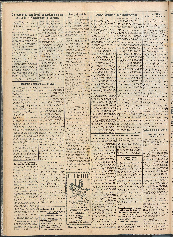 Het Kortrijksche Volk 1927-07-03 p2