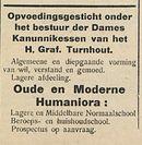 Oude en Moderne Humaniora
