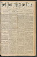Het Kortrijksche Volk 1910-07-24 p1