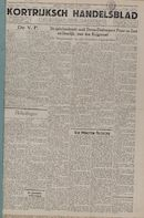 Kortrijksch Handelsblad 27 augustus 1946 Nr69 p1