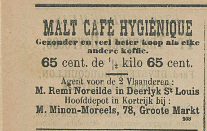 MALT CAFE HYGENIQUE