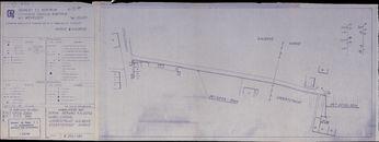 Plannen van de aanleg van het telefoonnet te Aalbeke, 1967-1976