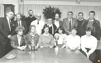 Beker schepen Sansen volleybal 1988