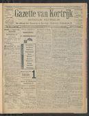 Gazette Van Kortrijk 1911-10-05