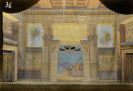 Palais égyptien - reconstructie