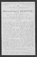 Maria-Octavia Dewitte