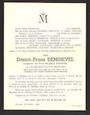 Dendievel Désiré-Frans