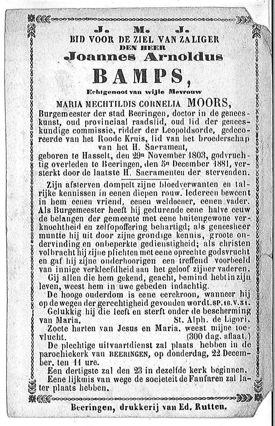 Joannes Arnoldus Bamps