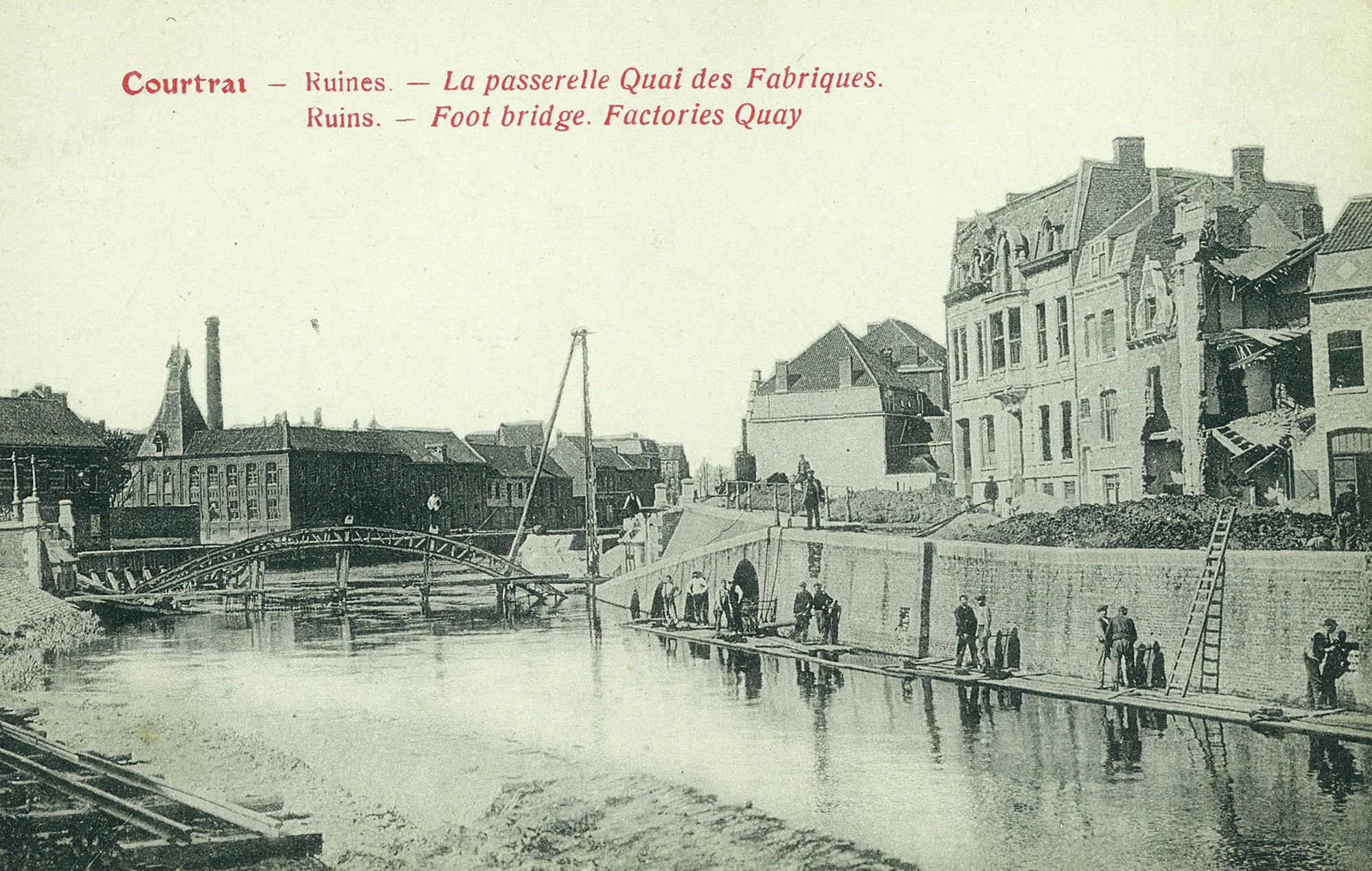 Fabriekskaai na Wereldoorlog I