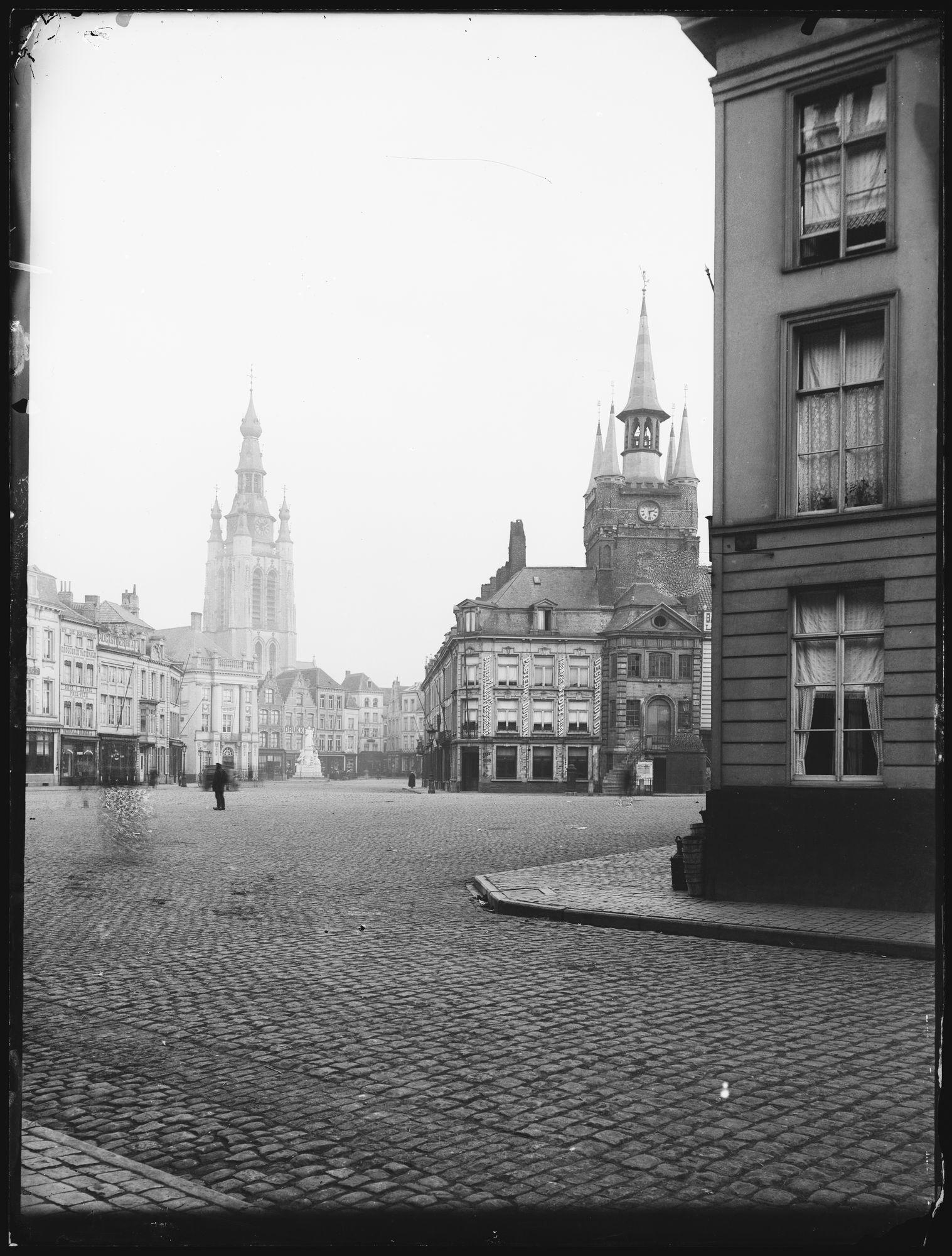 Grote Markt hoek Rijselsestraat