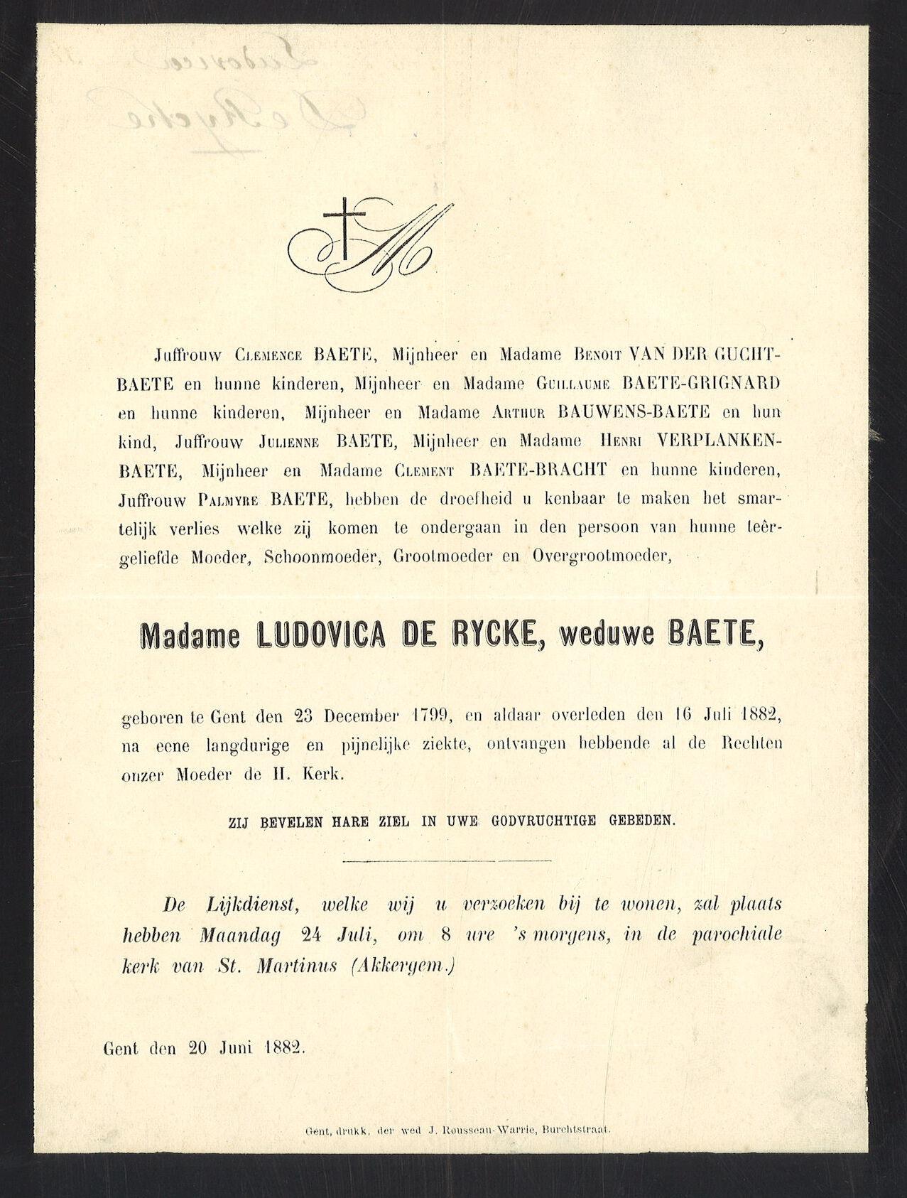 Ludovica De Rycke