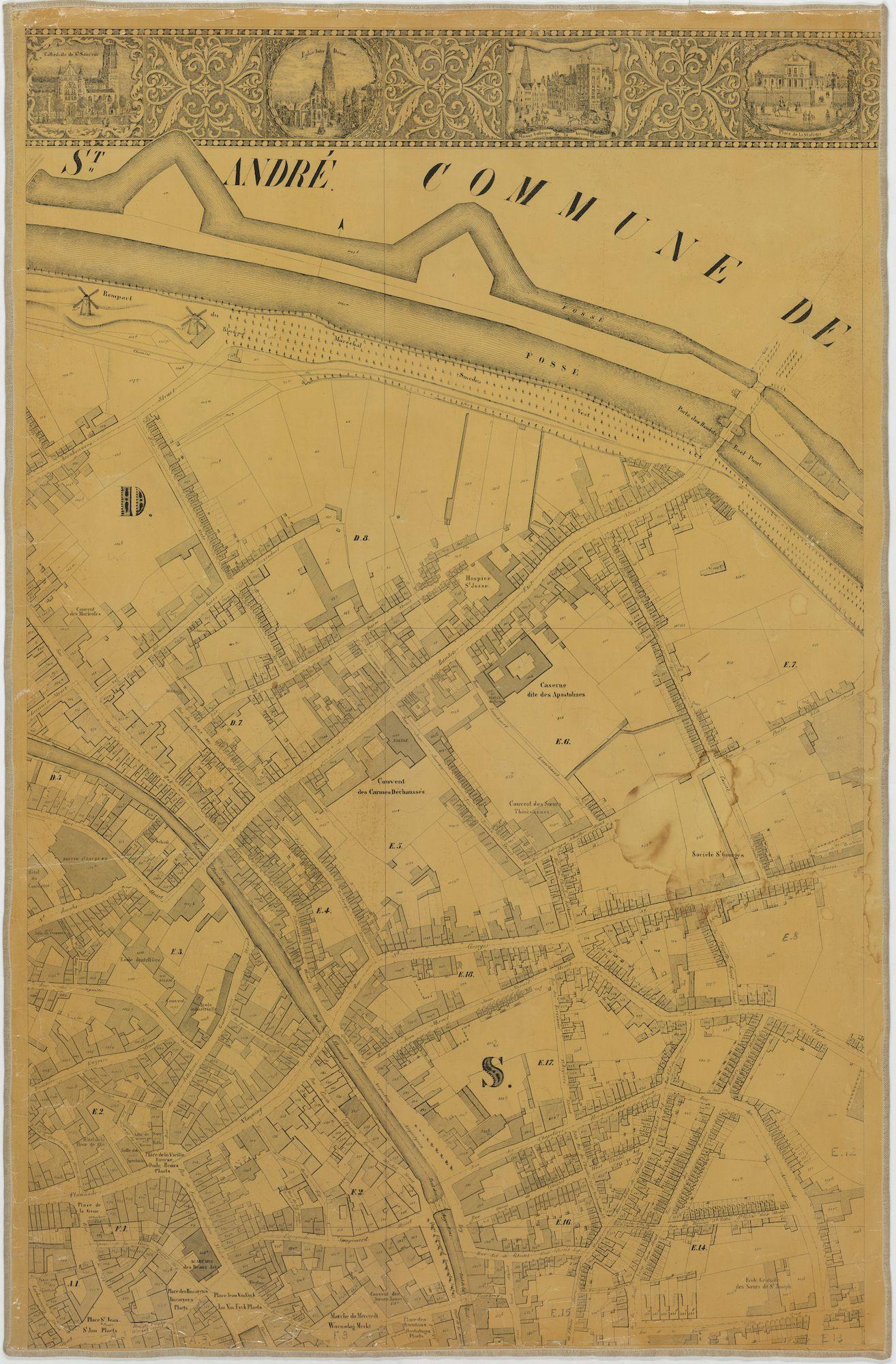 Westflandrica - Poppkaart van Brugge (3)