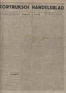 Kortrijksch Handelsblad 26 october 1945 Nr86 p1