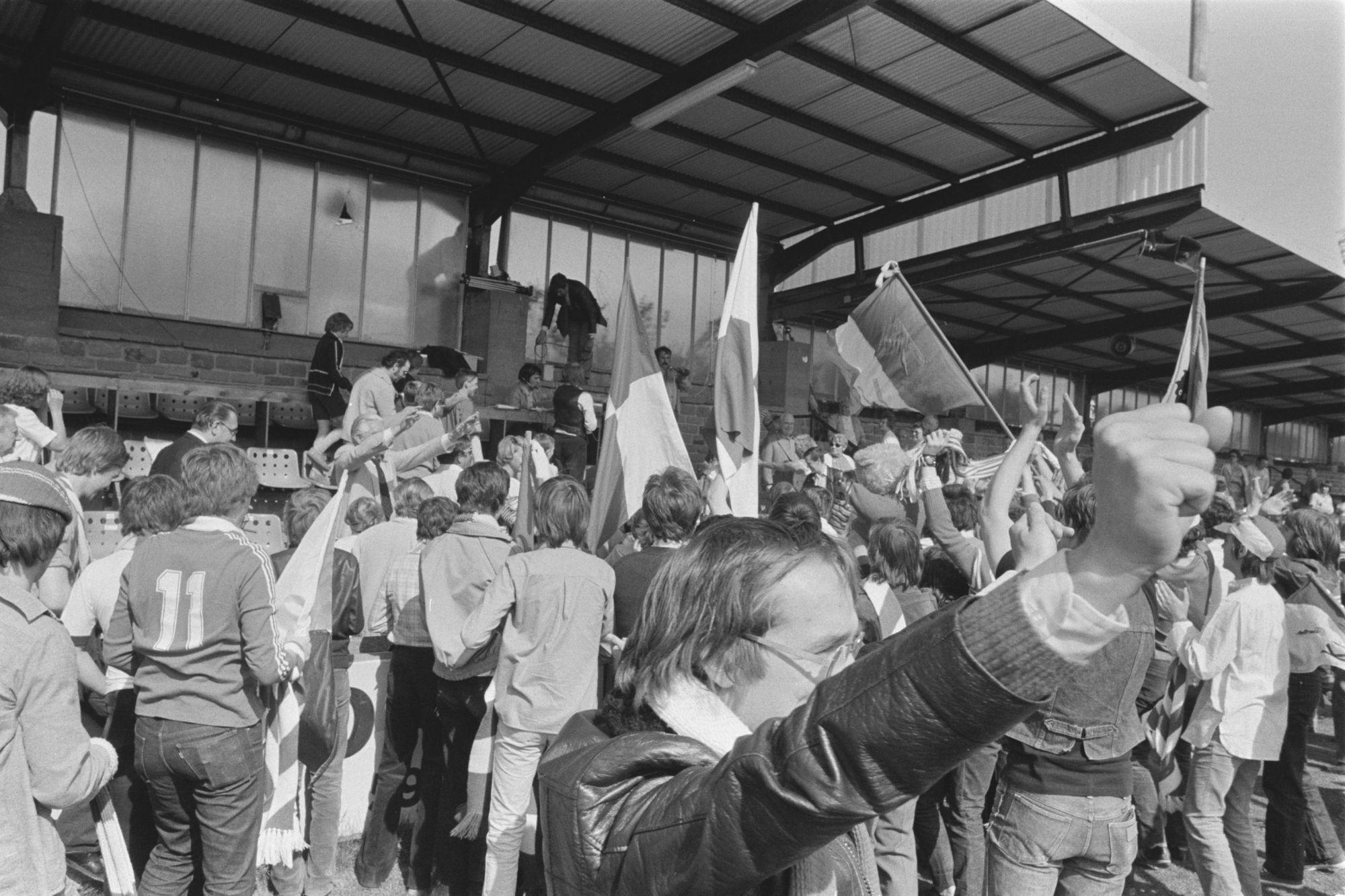 Kv Kortrijk promoveert in 1980