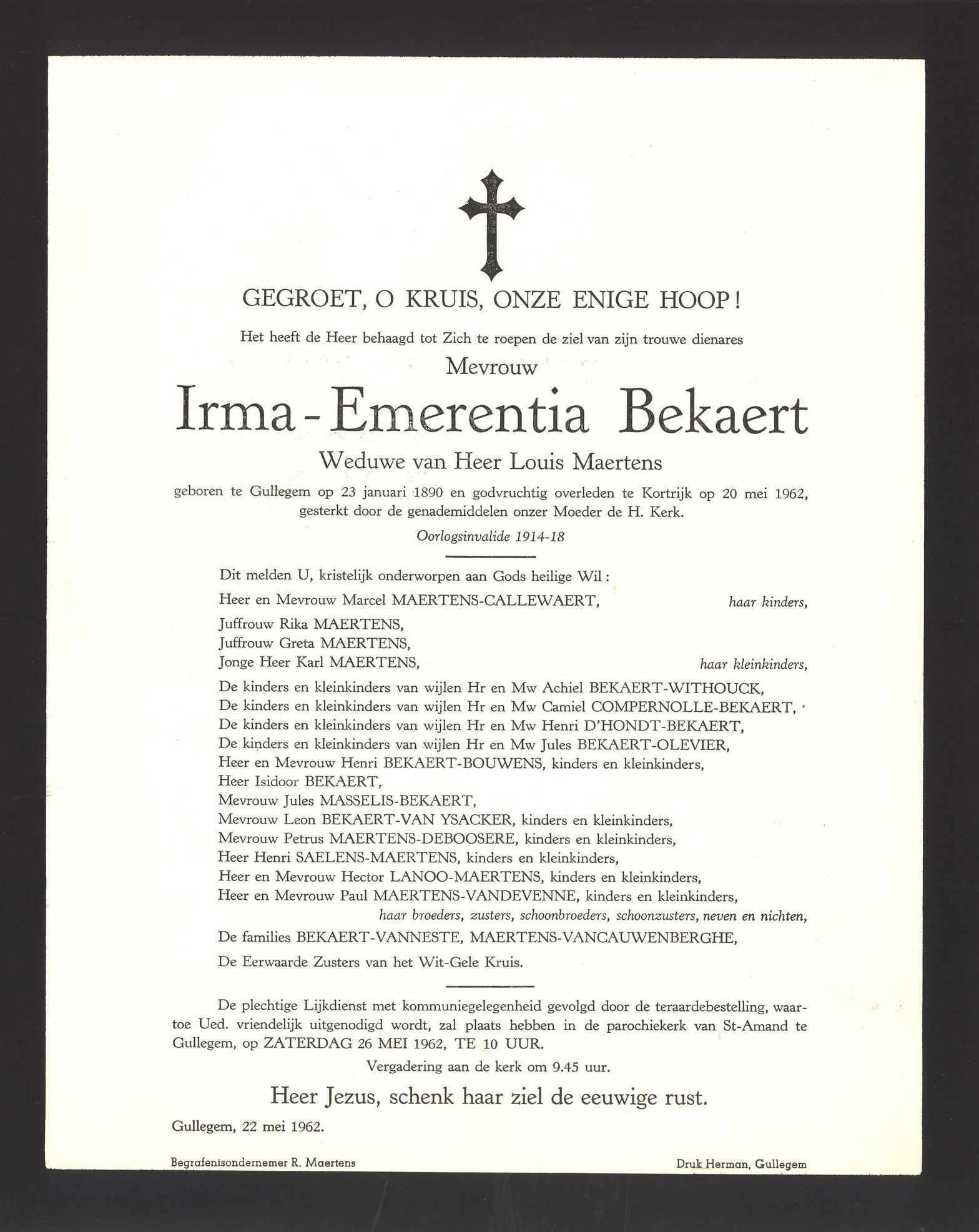 Irma-Emerentia Bekaert