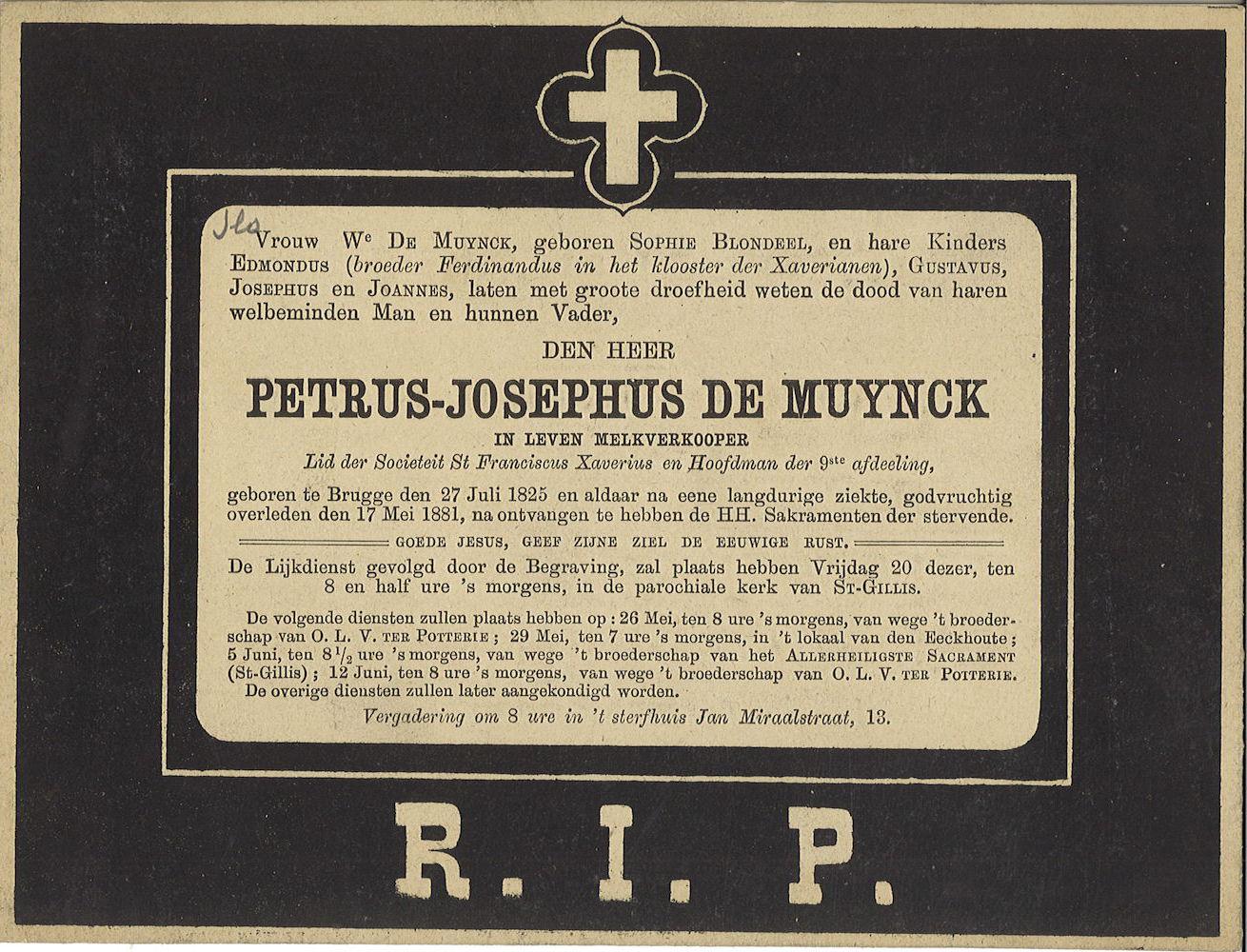 Petrus-Josephus De Muynck