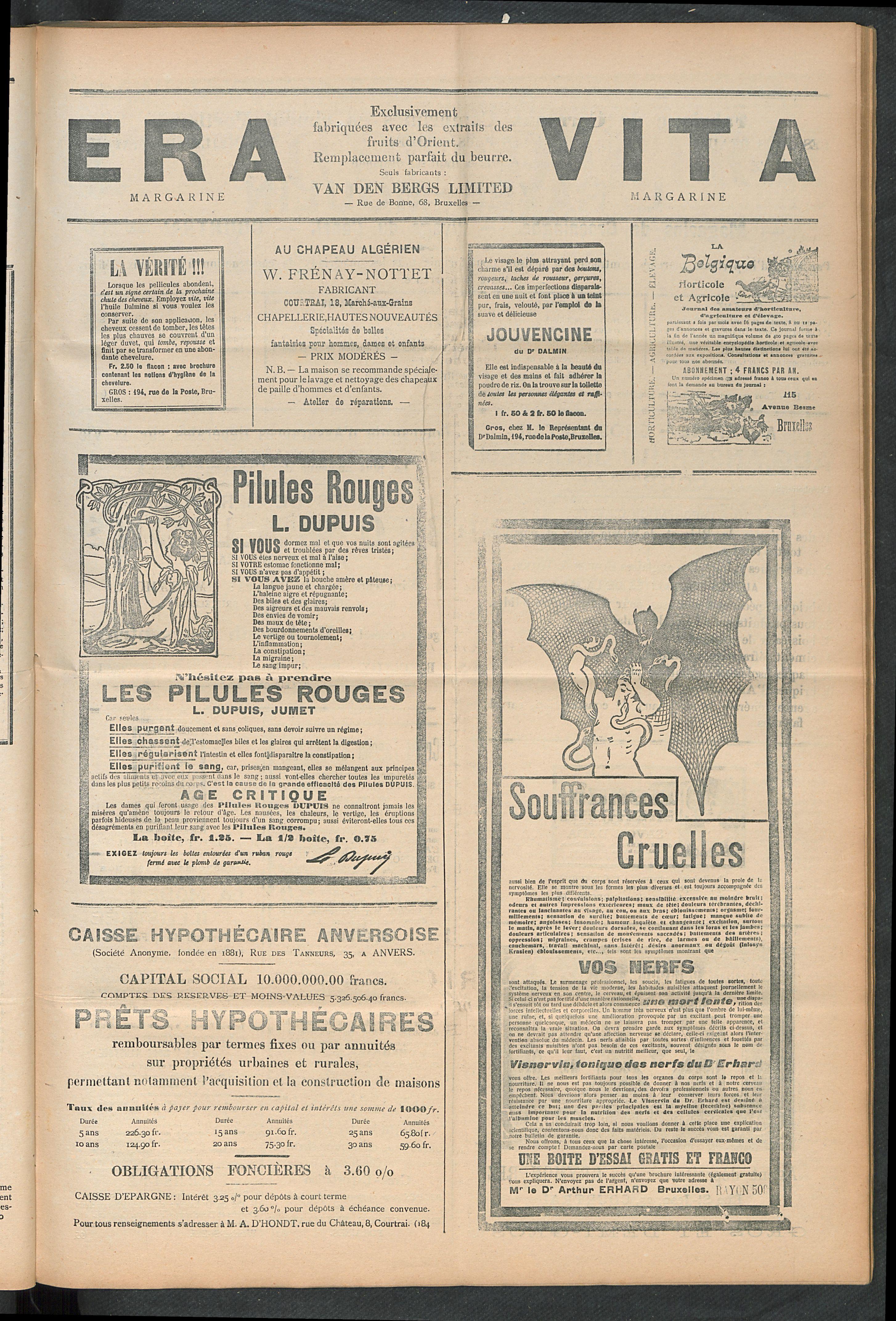 L'echo De Courtrai 1910-09-04 p5