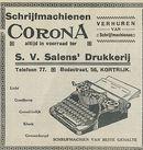 Schrijfmachienen CORONA