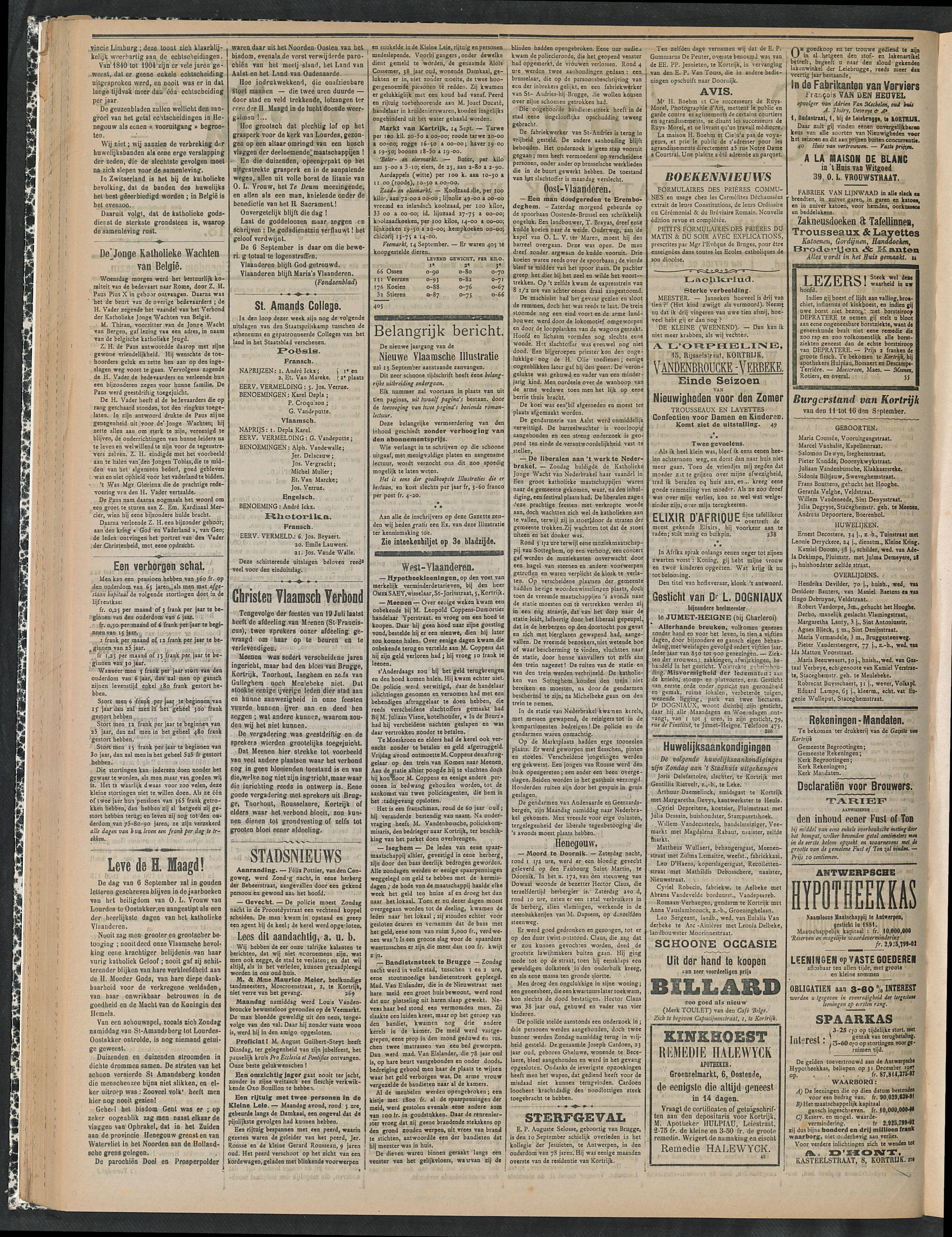 Gazette Van Kortrijk 1908-09-17 p2