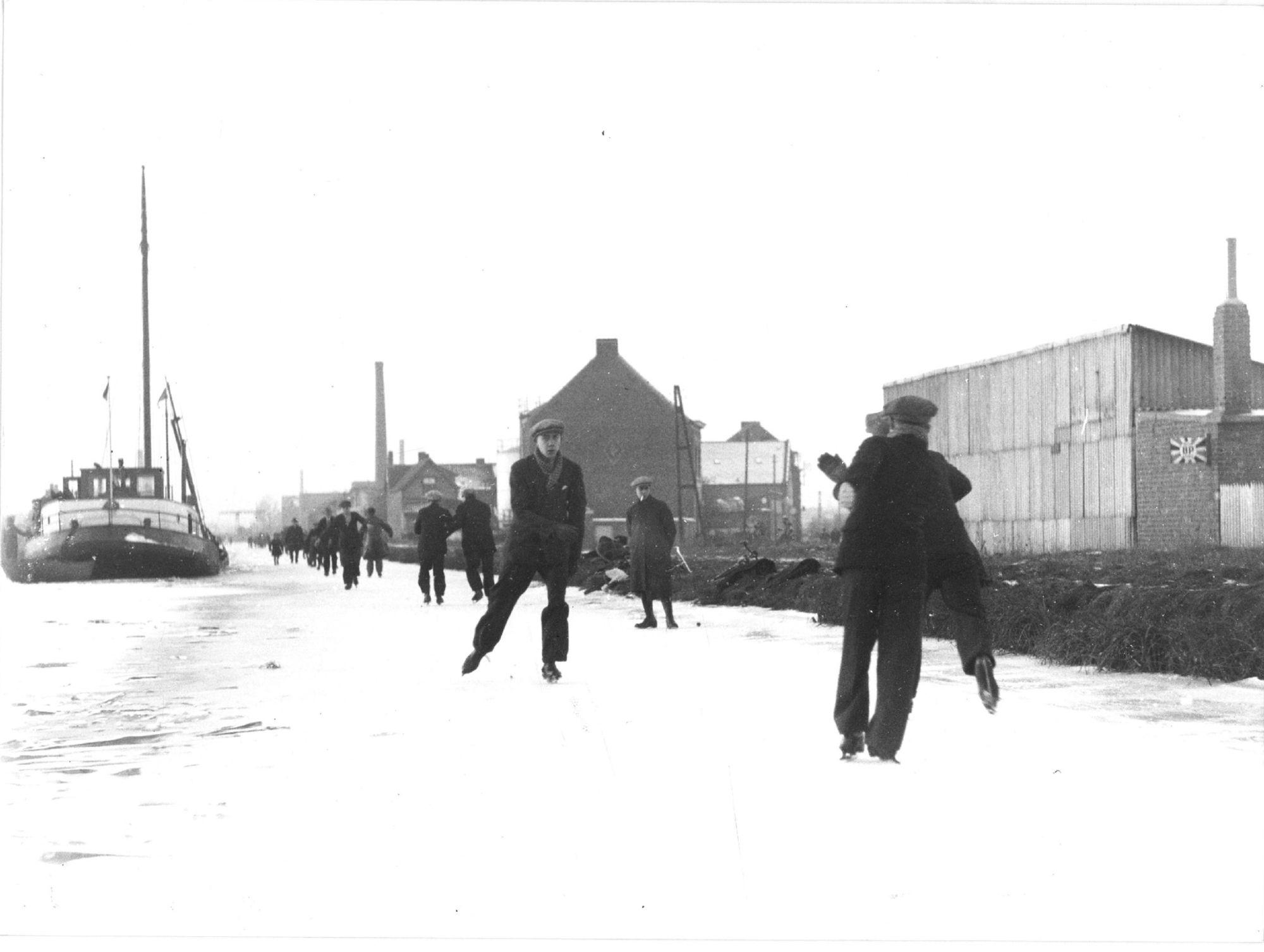 Kanaal Bossuit-Kortrijk in 1933