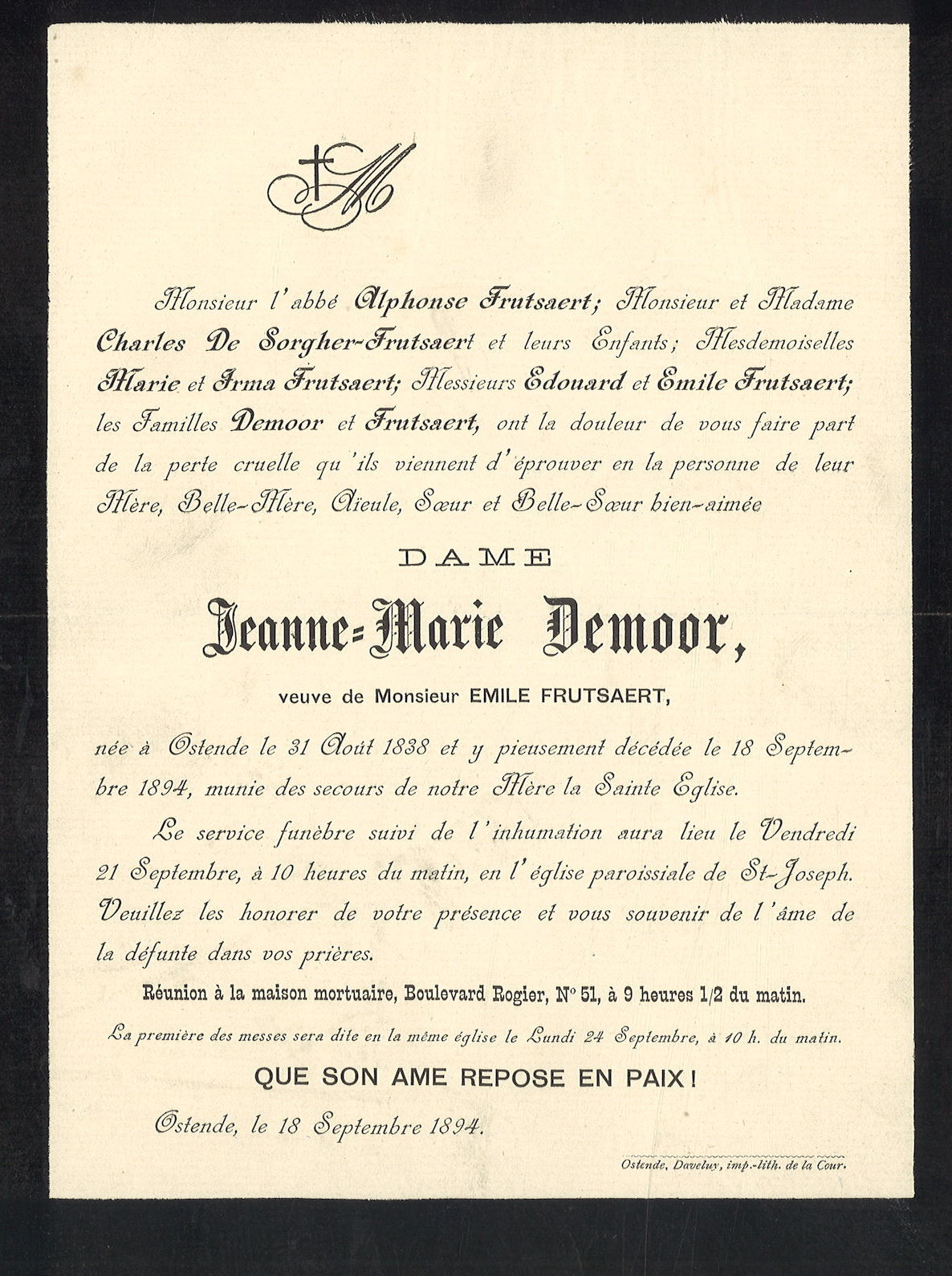 Jeanne-Marie Demoor