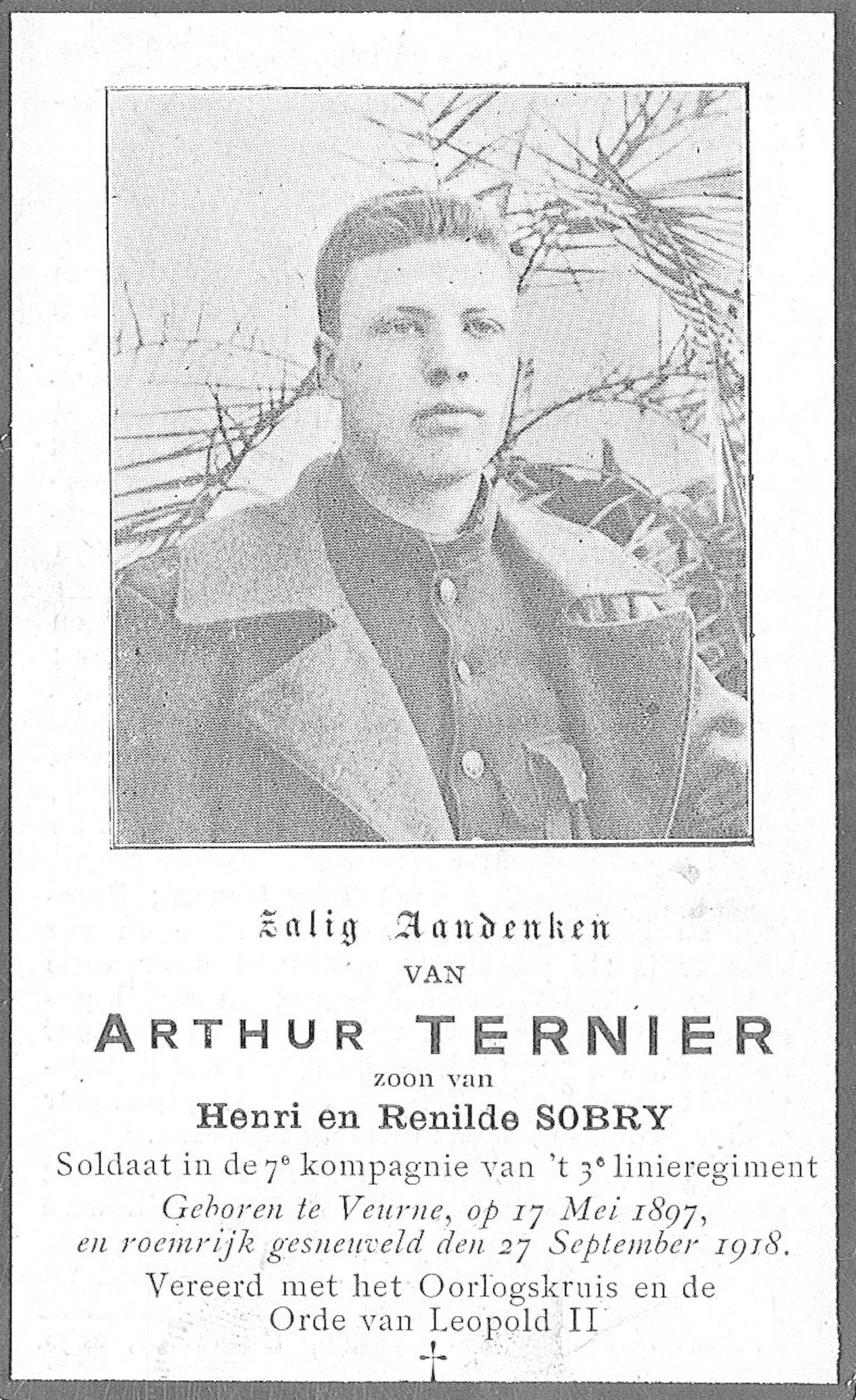 Arthur Ternier