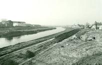 Het nieuwe kanaal Bossuit-Kortrijk te Moen 1980