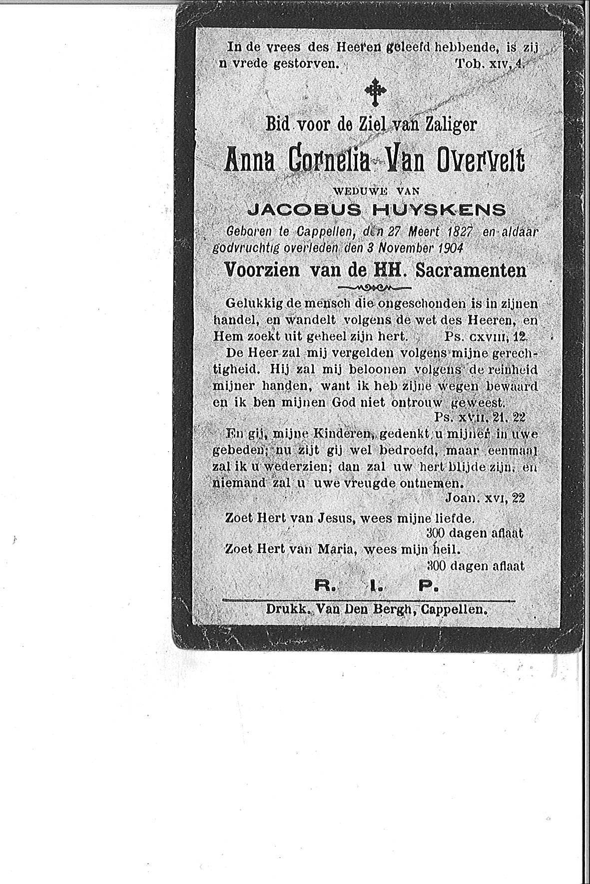 Van Overvelt Anna-Cornelia