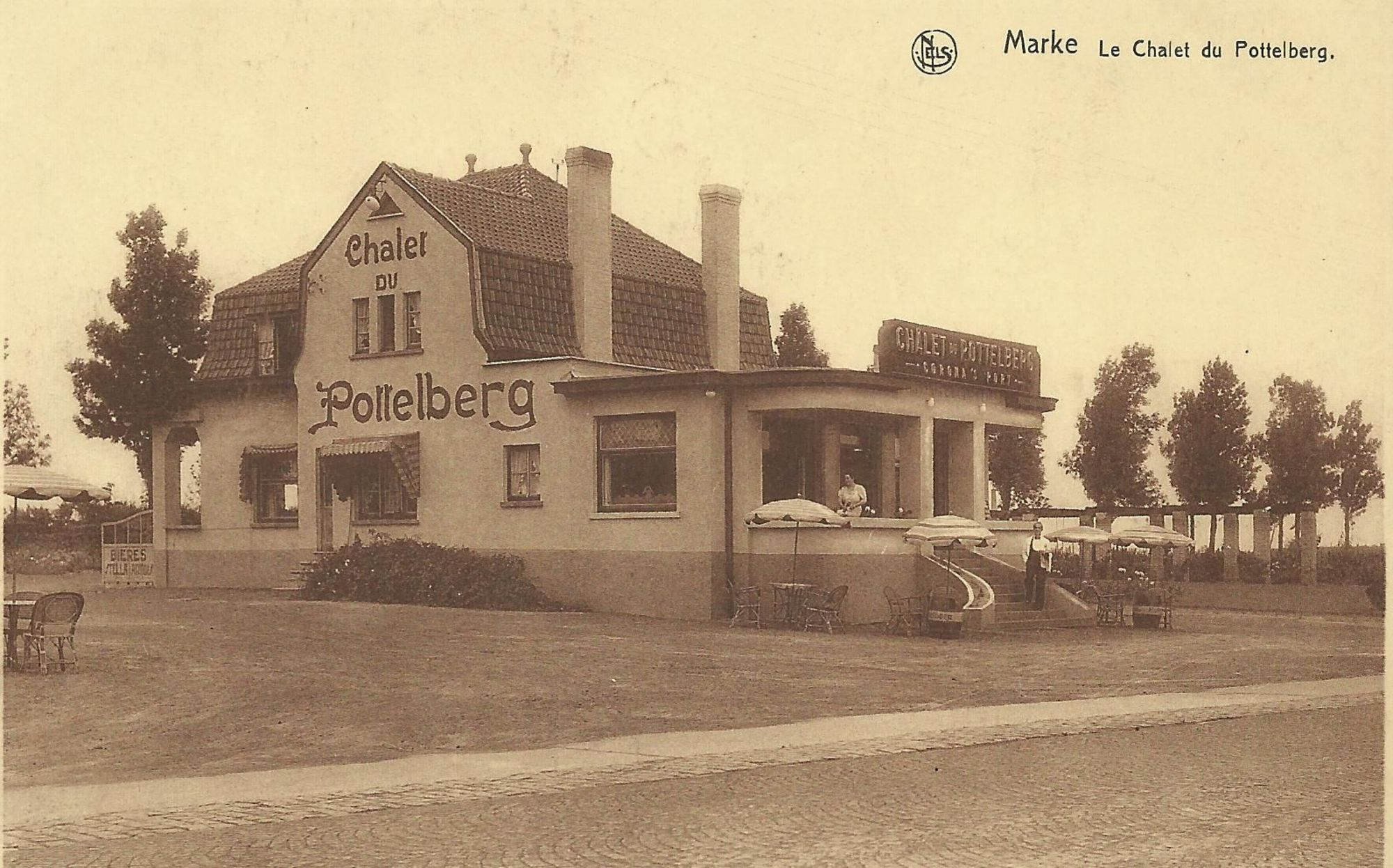Pottelberg chalet in Marke