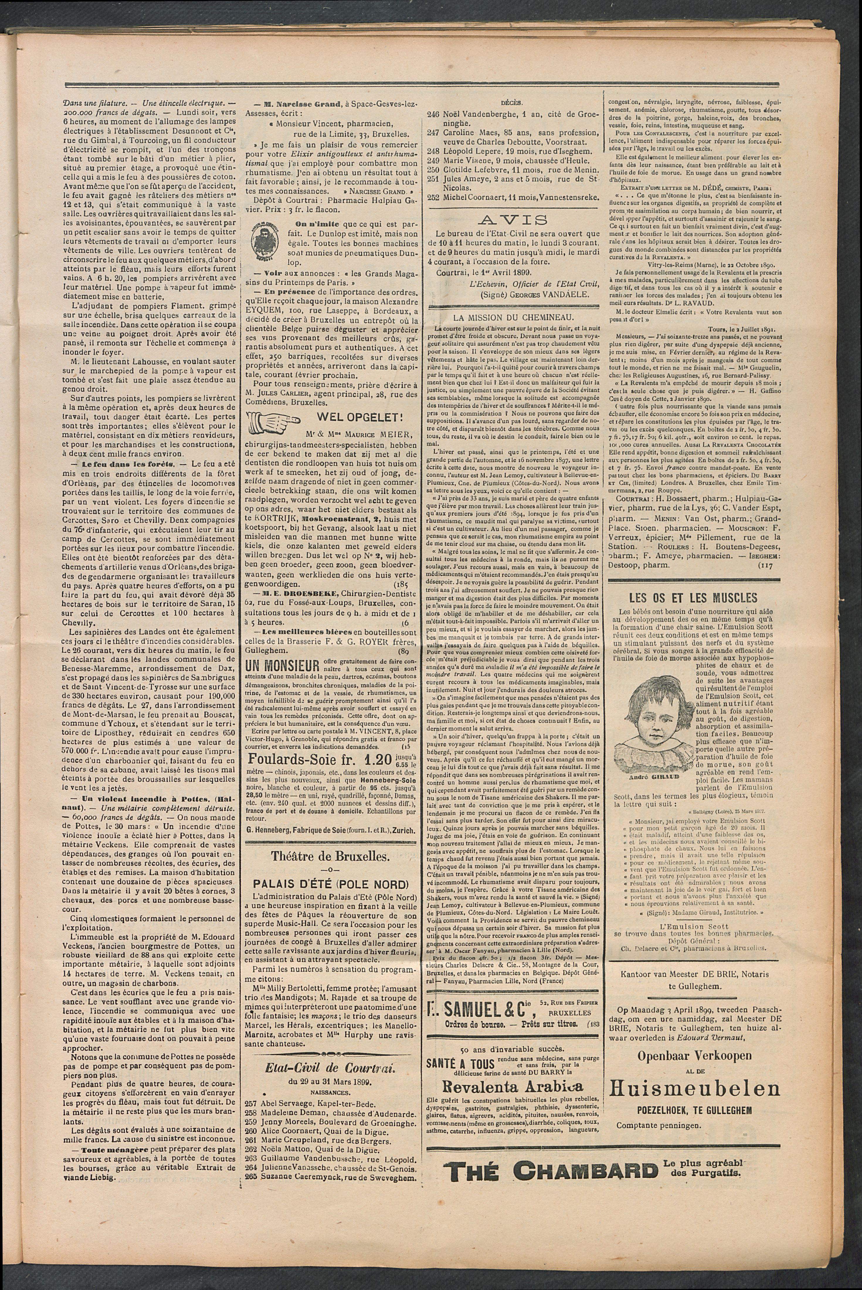 L'echo De Courtrai 1899-04-02 p3