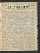 Gazette Van Kortrijk 1901-09-01