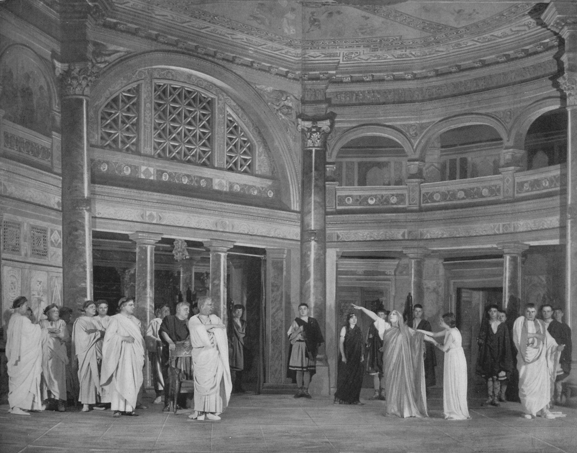 Le cabinet du souverain pontife
