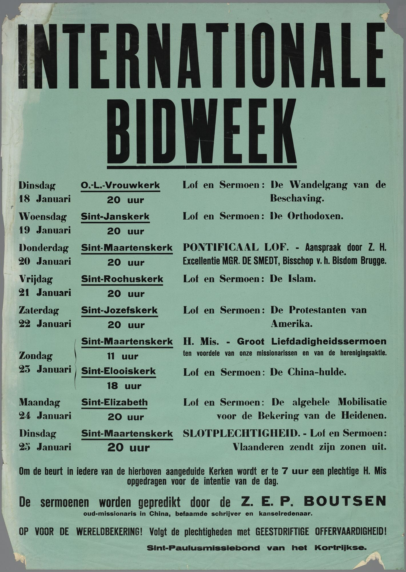 Internationale bidweek