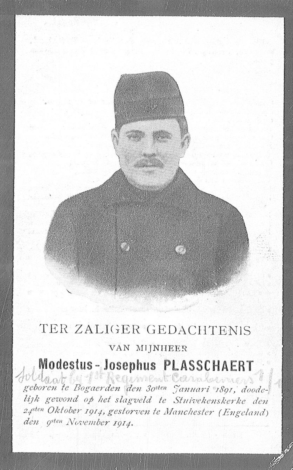 Plasschaert Modestus-Josephus
