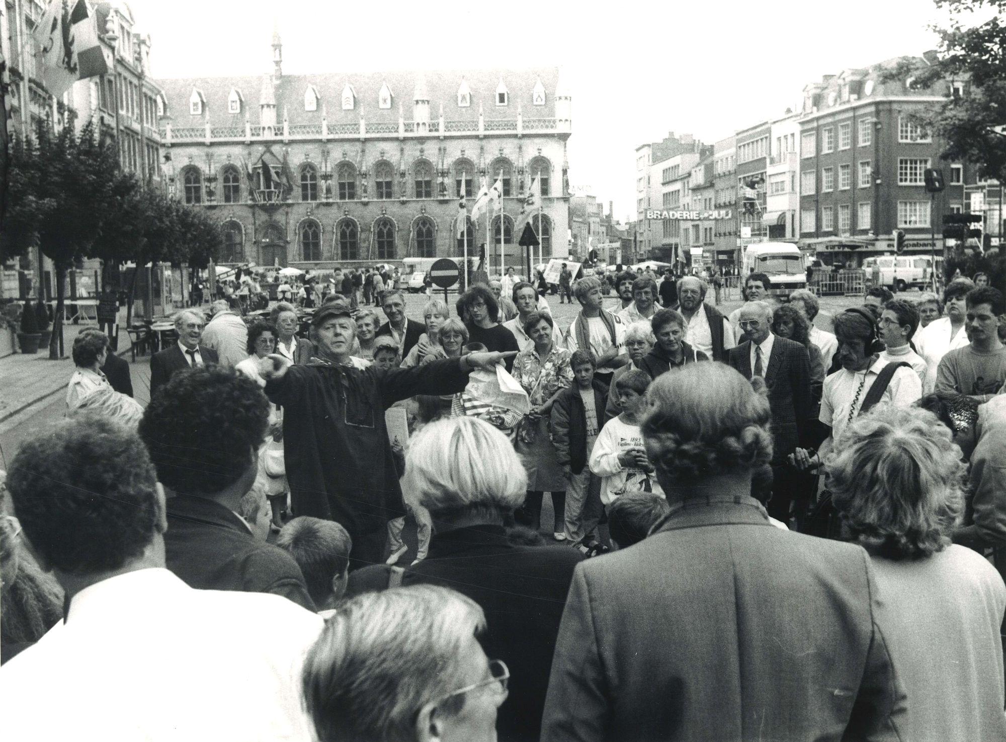 11julifeesten 1989 op de Grote Markt