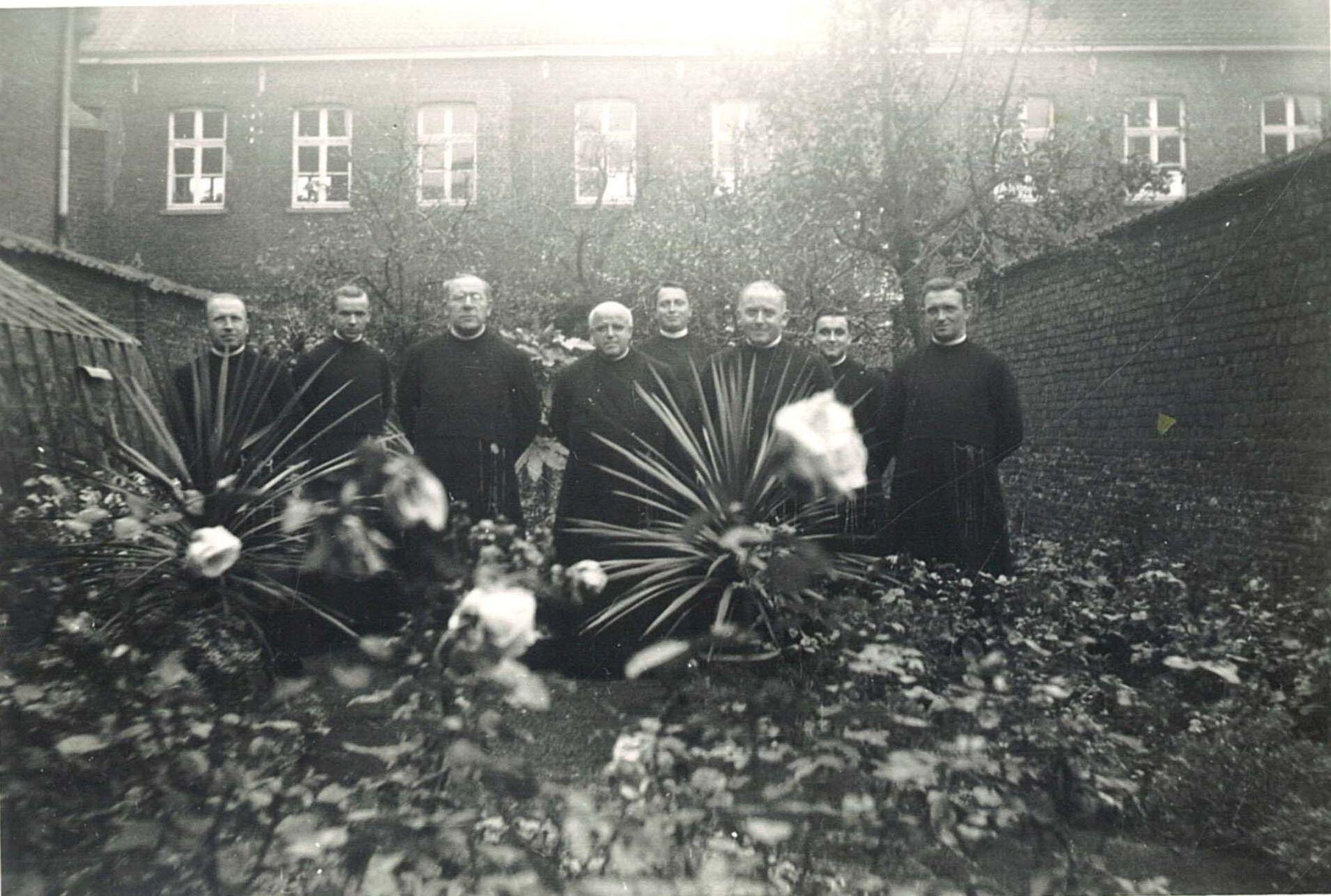 Groepsfoto Broederschool Overleie 1934-35