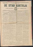 De Stad Kortrijk 1905-12-09