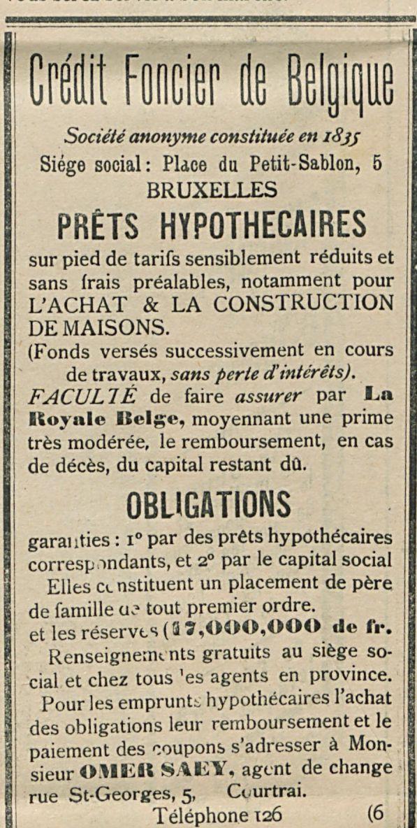 Credit Foncier de Belgique