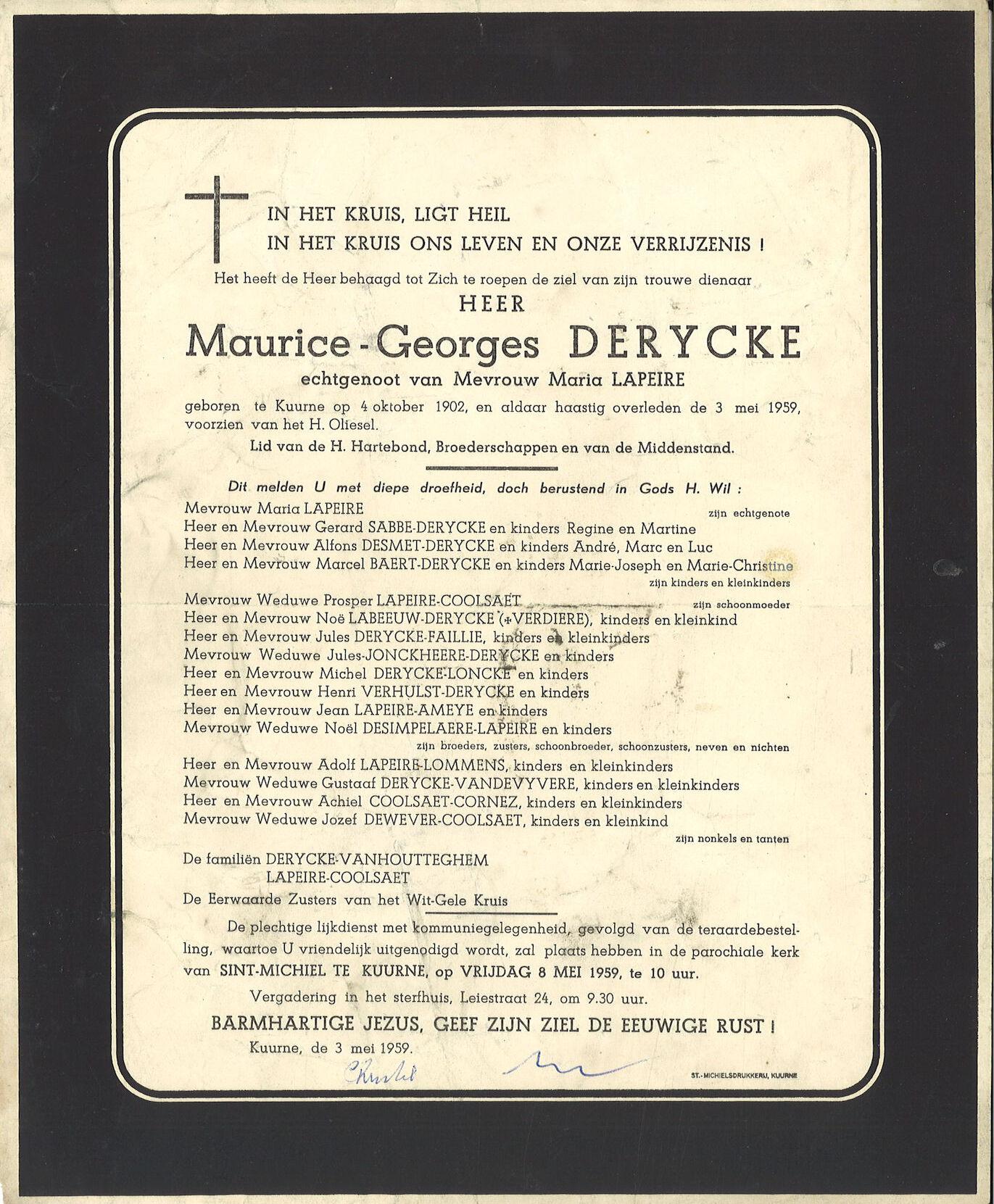 Maurice-Georges Derycke