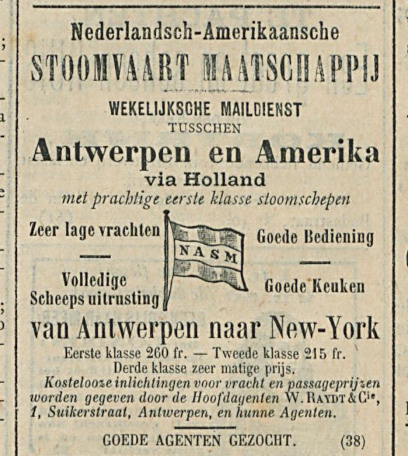 Antwerpen en Amerika