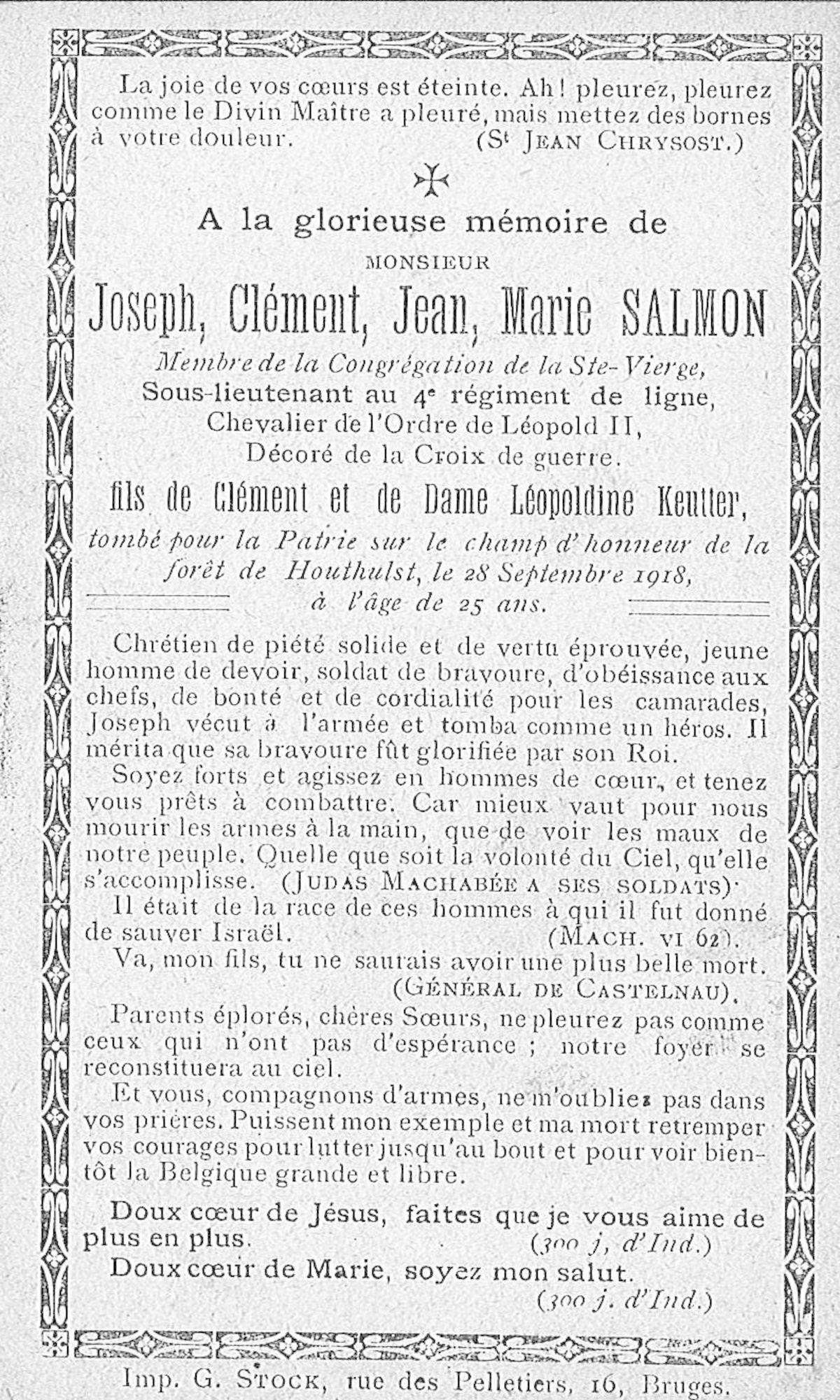 Joseph-Clément-Jean-Marie Salmon