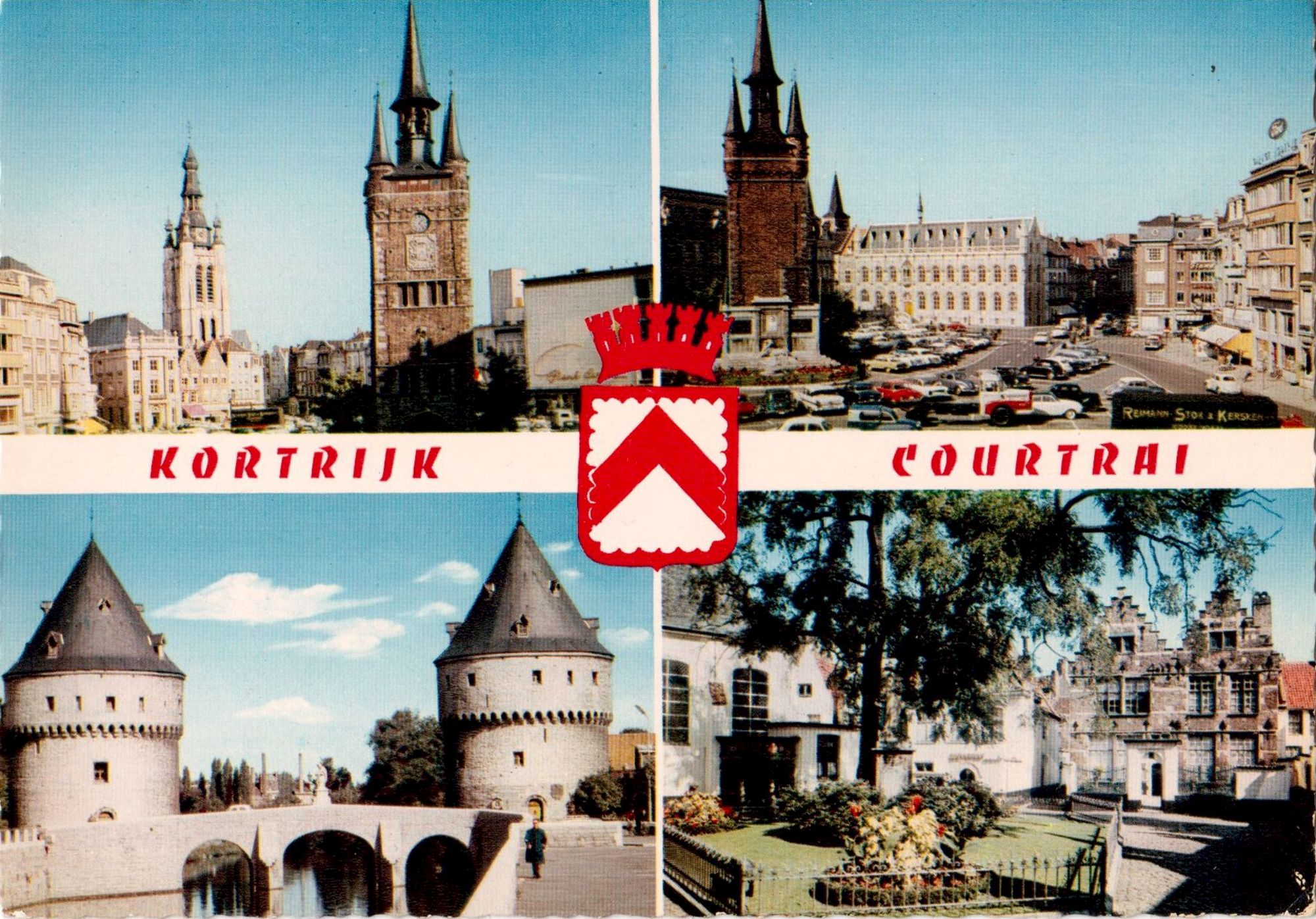 Panorama van Kortrijk