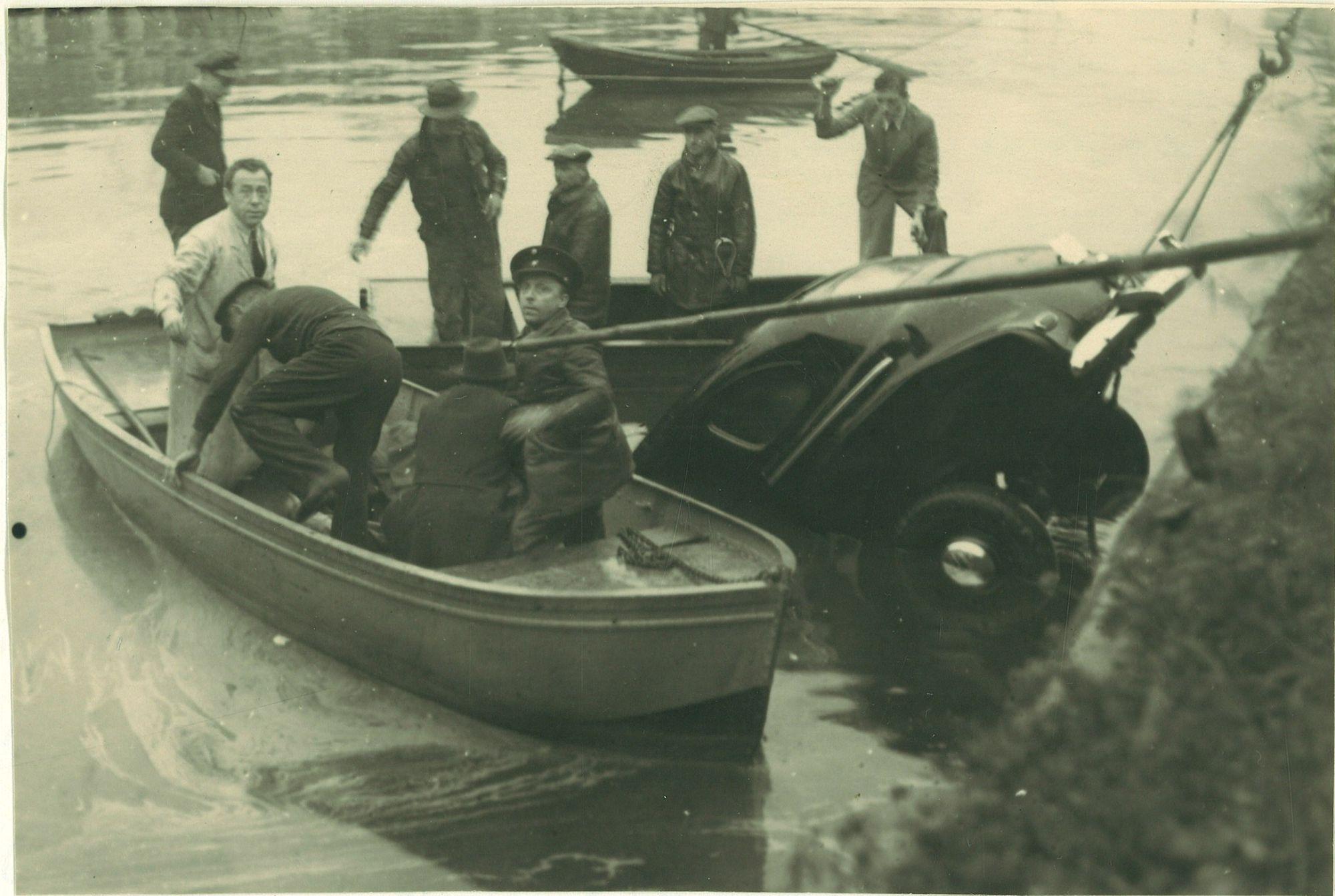 Verkeersongeval 1949